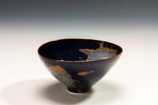 Stephanie Bertholon Bol noir abstrait
