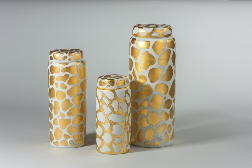 Stephanie Bertholon Boîtes dorées