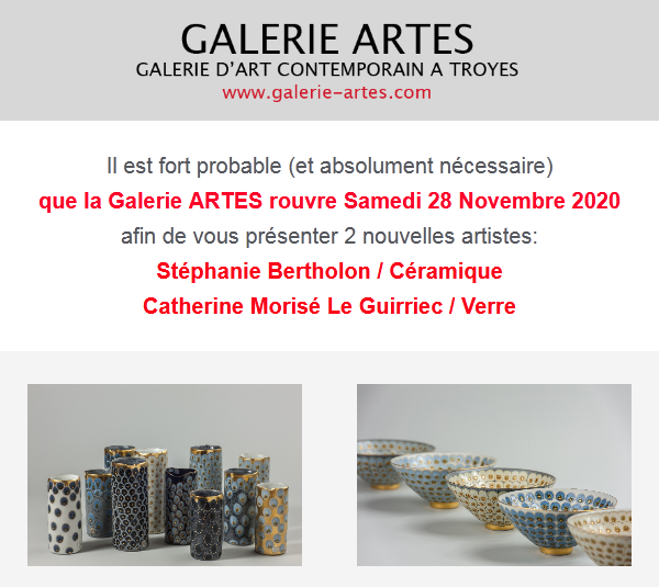stephanie bertholon - Galerie Artes - 2020